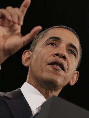 President Obama at U.S. Chamber of Commerce, Monday, Feb. 7, 2011.