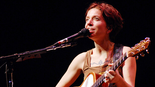 Ani DiFranco performed on Mountain Stage.