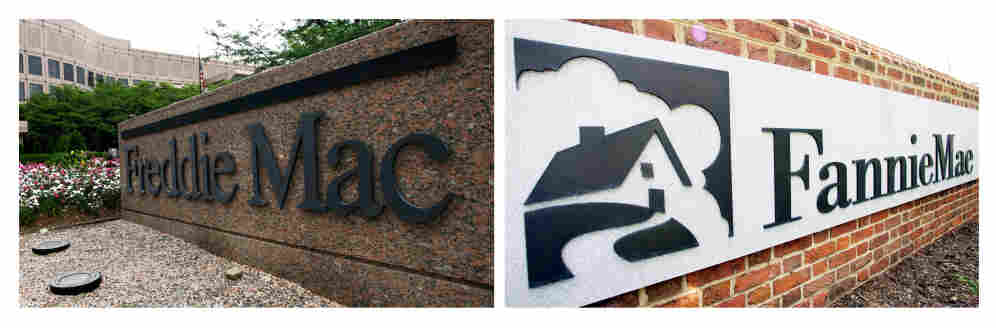 Freddie Mac headquarters in McLean, Va., and the  Fannie Mae headquarters in Washington, D.C.