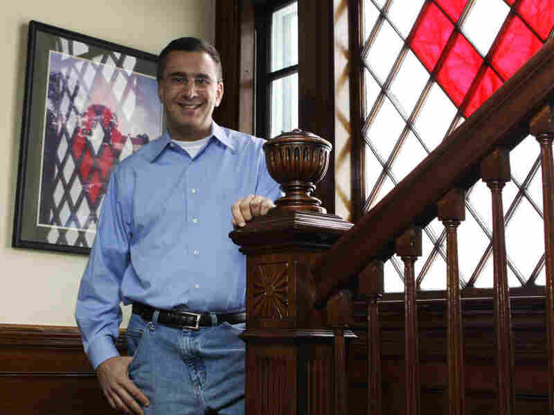 Jonathan Gruber, an MIT economist, at his home in Lexington, Mass.