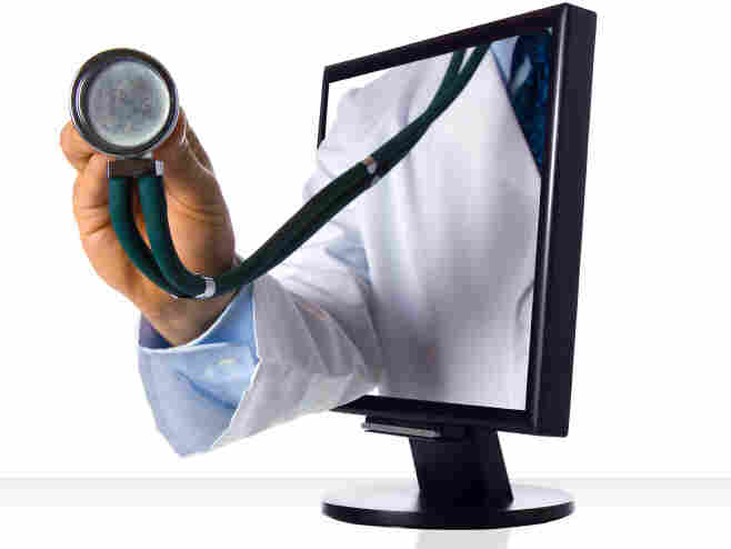Social media sites have started to replace the doctor's office.