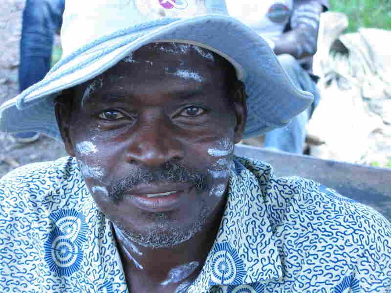 Cocoa farmer Yoboue Brou.