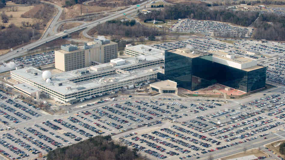 National Security Agency (NSA) headquarters at Fort Meade, Maryland, January 2010.