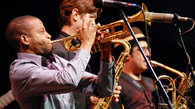 Trombone Shorty and Orleans Avenue Band performed on Mountain Stage.