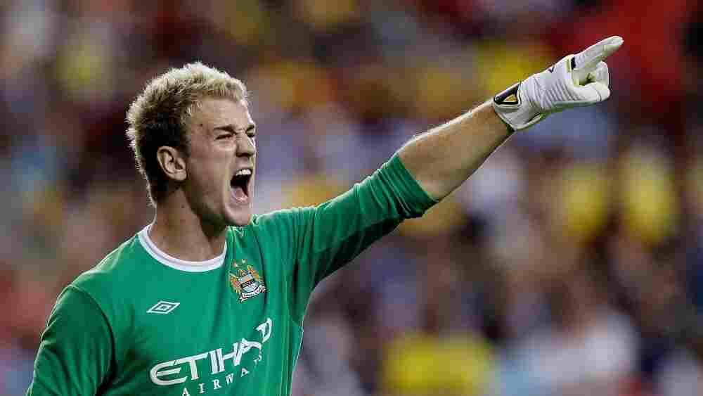 Goalkeeper Joe Hart of Manchester City.