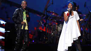 Chocquibtown perform onstage during the 11th annual Latin GRAMMY Awards at the Mandalay Bay Events Center on November 11, 2010 in Las Vegas, Nevada.