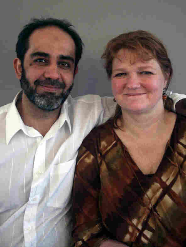 Majid Al-Bahadli  and his wife, Diana Klatte, spoke at StoryCorps in Seattle, Wash.