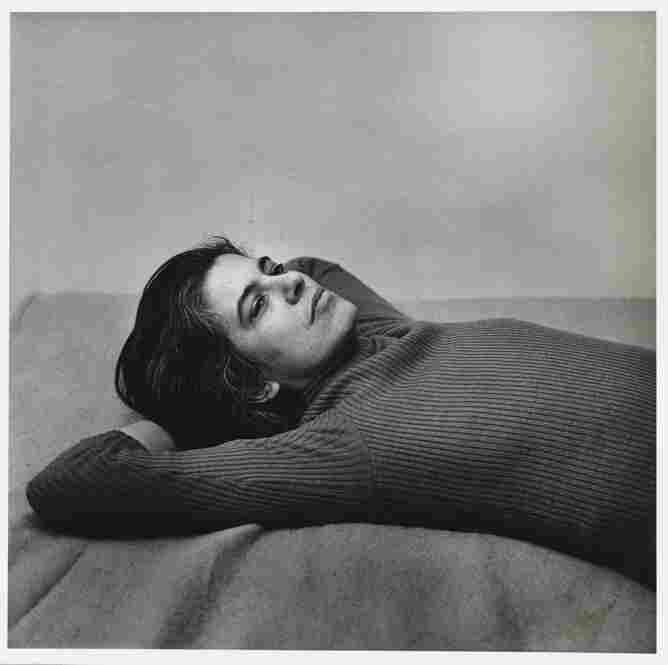 The intellectual Susan Sontag had an early marriage to sociologist Peter Reiff, but later in life had a committed relationship with photographer Annie Leibovitz. Susan Sontag, 1975