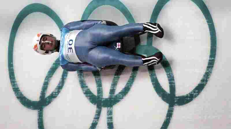 Nodar Kumaritashvili practices for the Vancouver Olympics men's luge the day before he died on the track.