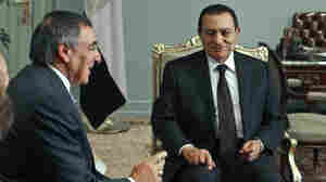 Last January, CIA Director Leon Panetta (left) met with Egyptian President Hosni Mubarak at the presidential palace in Cairo.