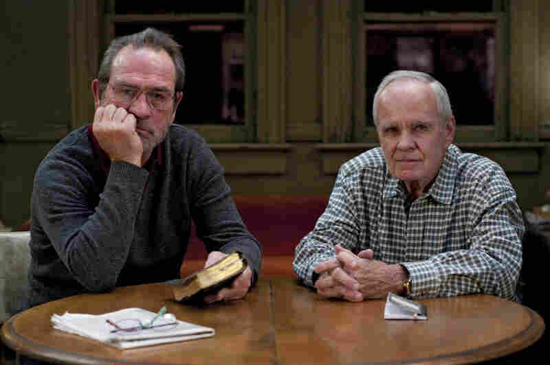Tommy Lee Jones and Cormac McCarthy.