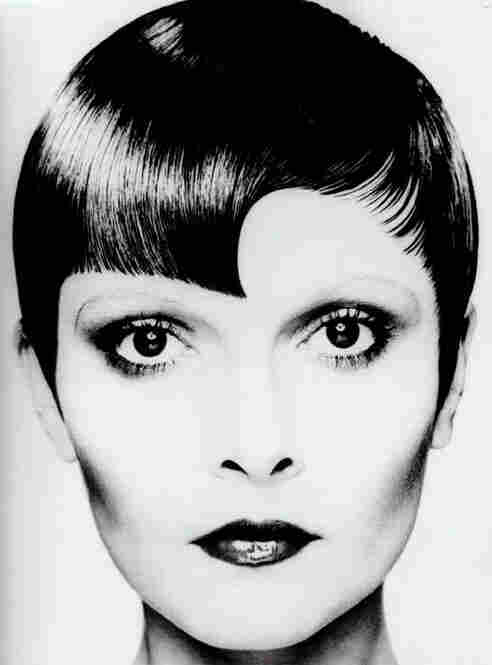 Sassoon's geometric styles became a hallmark of his brand. This cut by Christopher Brooker, Sassoon's creative director for 20 years, carries on the tradition.