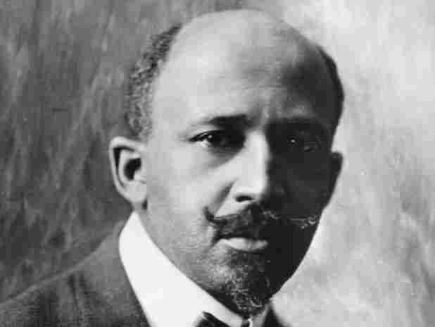 African-American intellectual and historian W.E.B DuBois (1868 - 1963).