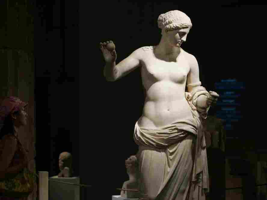 Aphrodite, an embodiment of erotic love's untrammeled power.
