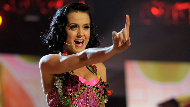Katy Perry is among the nominees for Sunday night's Grammy Awards. (Getty Images)