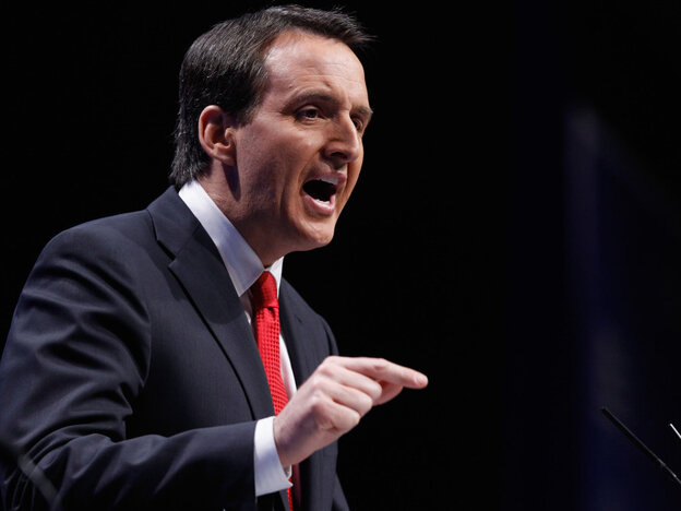 Tim Pawlenty, former Minnesota governor, at the Conservative Political Action Conference, February 11, 2011.