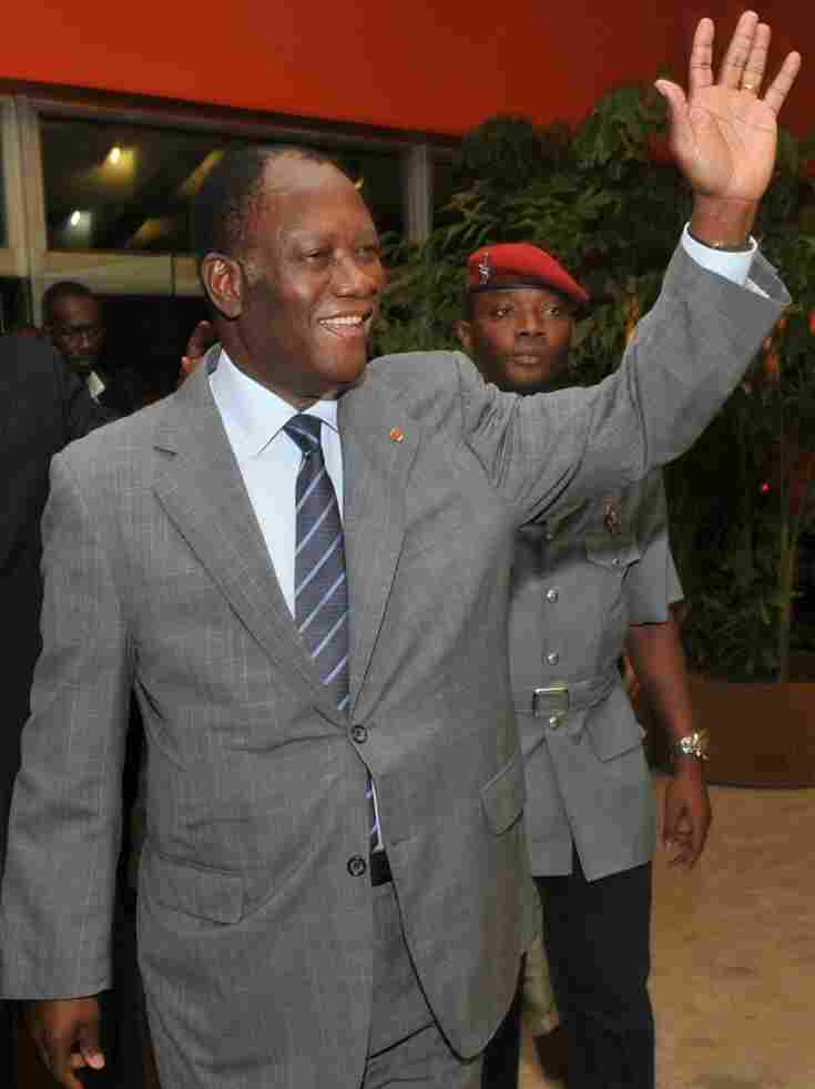 Alassane Ouattara is the internationally recognized leader of Ivory Coast.