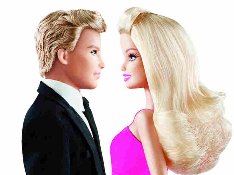 Barbie and Ken lock eyes once again.