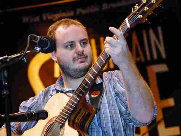 Andy McKee performed on Mountain Stage.