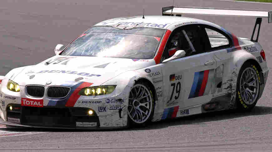 This kind of BMW is supposed to go fast.
