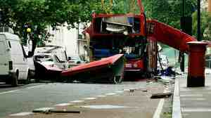 The No. 30 double-decker bus was among the parts of the city's transport system attacked in London on July 7, 2005.