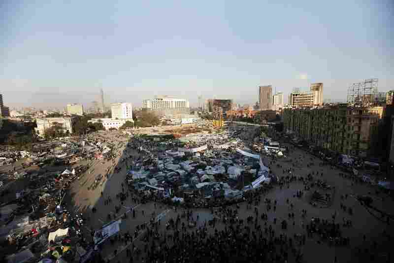 Morning breaks Saturday on Tahrir Square, the epicenter of the popular revolt that drove Hosni Mubarak from power.