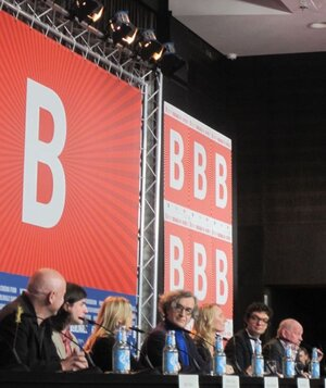 Cast of Pina at the Berlinale press conference