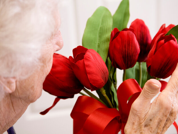 Make an old person in your life your Valentine today.