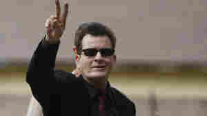 Charlie Sheen arrives at the Pitkin County Courthouse in Aspen, Colo., in August 2010.