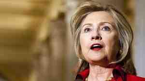 Secretary of State Hillary Rodham Clinton, Monday (Feb. 14, 2011) on Capitol Hill.