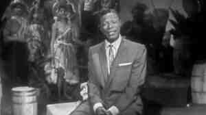 "Nat King Cole singing ""The Banana Boat Song (Day-O)"" on an episode of his show that originally aired January 21, 1957."