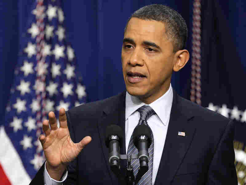 President Obama on Tuesday offered cautious  support for the pro-democracy demonstrations unfolding in Bahrain, Iran and Yemen.