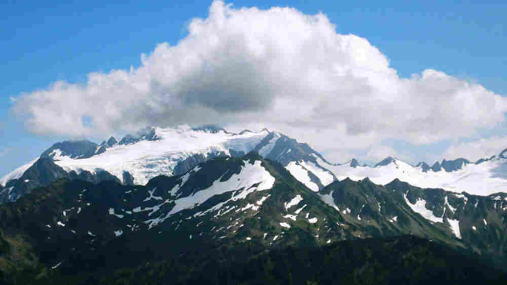 A view of Mount Olympus