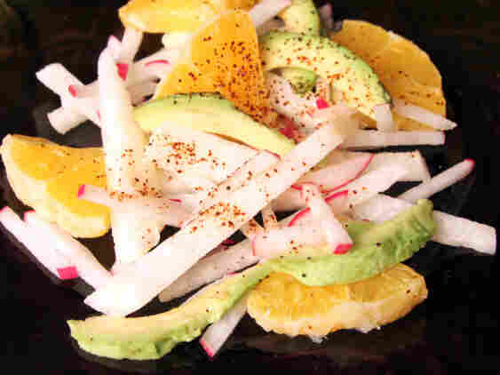 Avocado, Jicama And Orange Salad