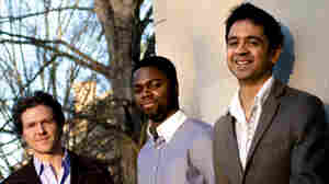 The Vijay Iyer Trio recently performed a studio session at KPLU.