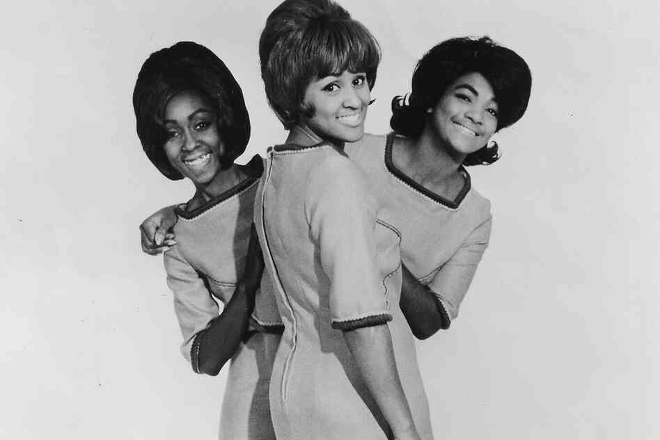 "Love (center) was a high school sophomore when she became the lead singer of a girl group called ""The Blossoms"" in 1958, produced by music giant Phil Spector. Spector changed Darlene's name to Love to better suit the stage."