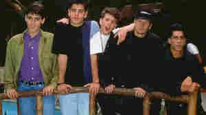 New Kids of the Block in London, back in 1990.