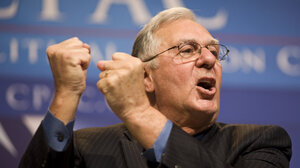 Former House Majority Leader Dick Armey's FreedomWorks group says vouchers should replace the current Medicare and Medicaid programs.