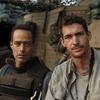 Restrepo directors Sebastian Junger (left) and Tim Hetherington, at the Restrepo outpost in Afghanistan's Korengal Valley.