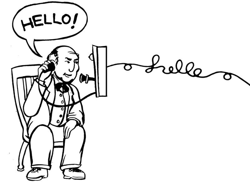 A (Shockingly) Short History Of 'Hello' : Krulwich Wonders