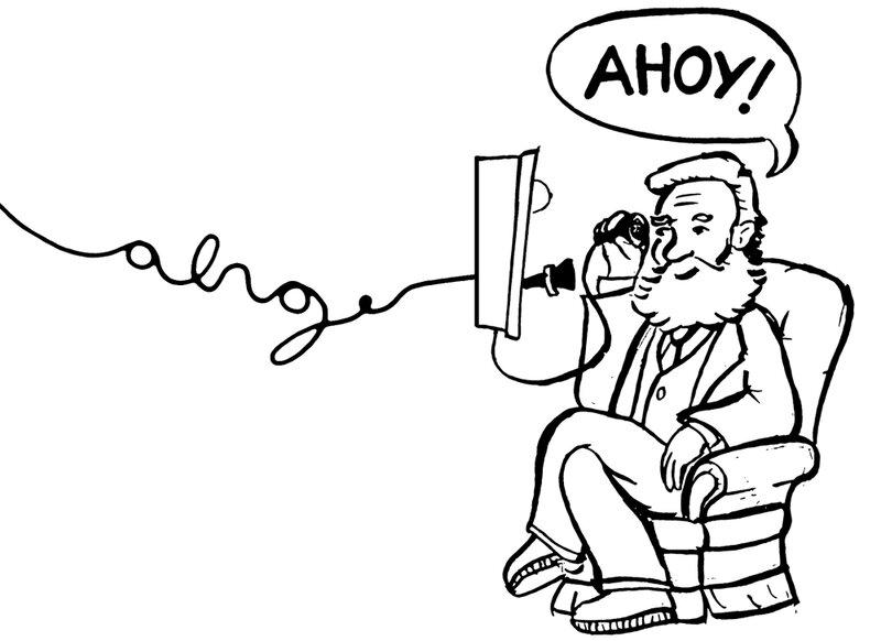 A shockingly short history of hello krulwich wonders npr ahoy m4hsunfo