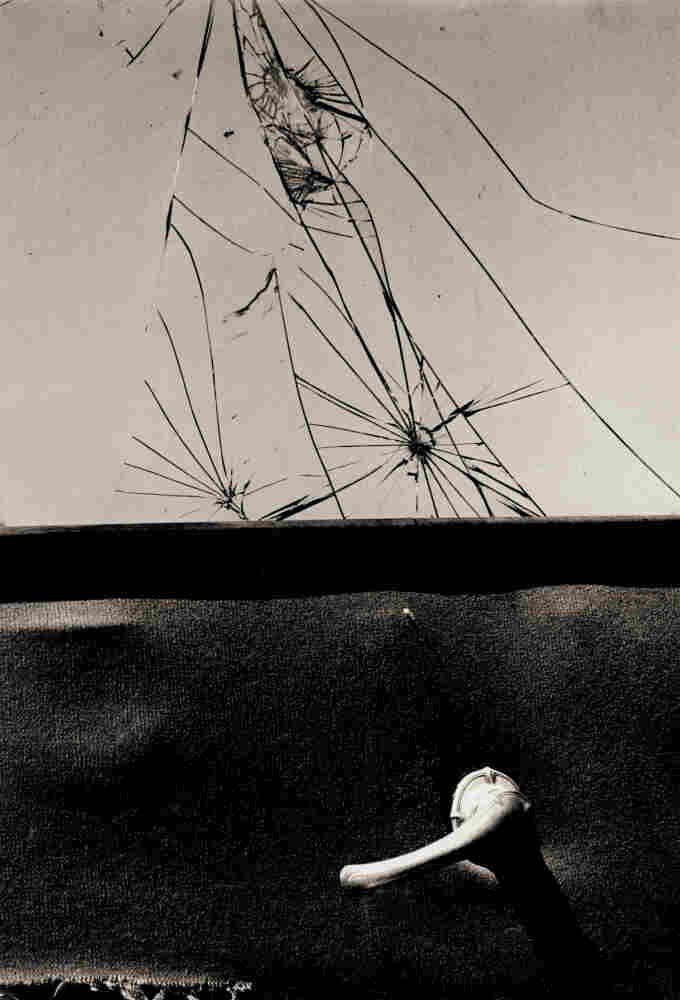 "This  image (""Broken Glass"") is from the 1951 exhibition ""Abstraction in Photography"" at the Museum of Modern Art in New York City."