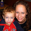 Danielle Rose has dinner at a Sarasota Chick-fil-A restaurant with her son,  Devin Allan. Devin was born Feb. 28, 2008, and went through withdrawal because Rose was addicted to prescription painkillers during her pregnancy.