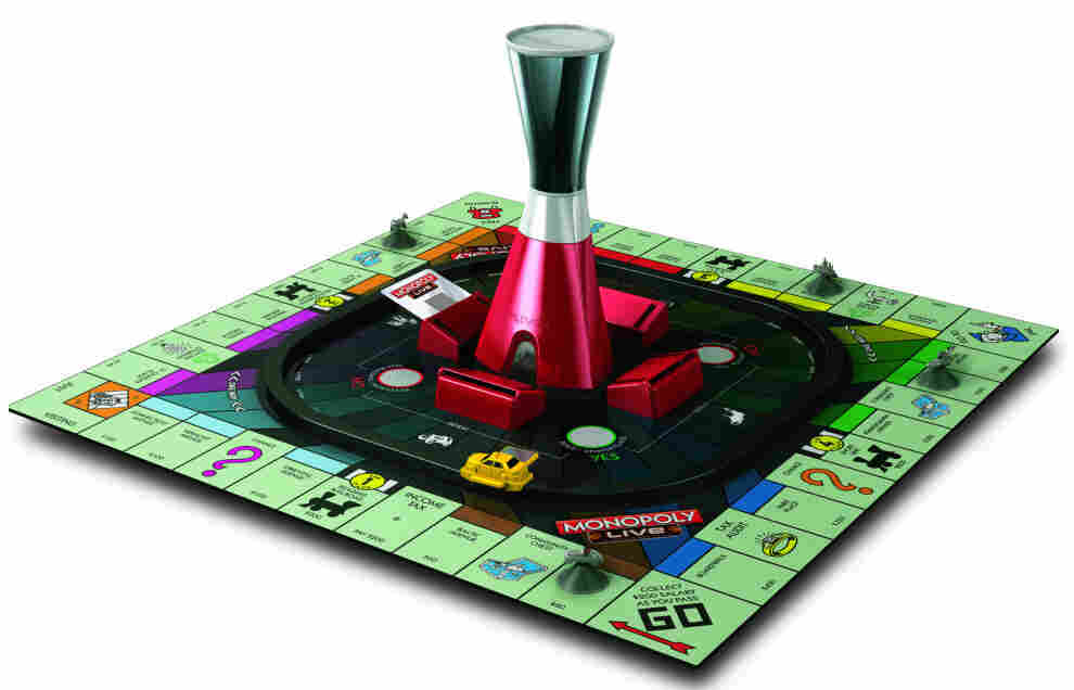 The new Monopoly has an automated tower instead of a human banker.