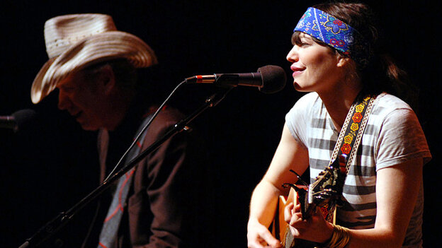 Pieta Brown performed on Mountain Stage.