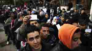 Migrants From African Unrest Land In Italy