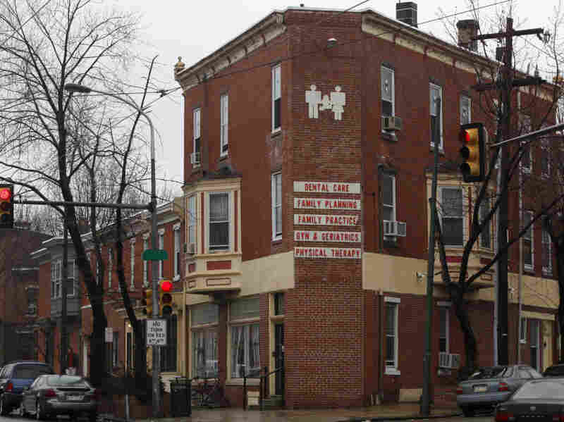 A photo from 2010 shows the Women's Medical Society in Philadelphia, where Dr. Kermit Gosnell performed abortions.  A grand jury report released in January 2011 detailed horrid conditions inside, including the deaths of seven infants and at least two women.