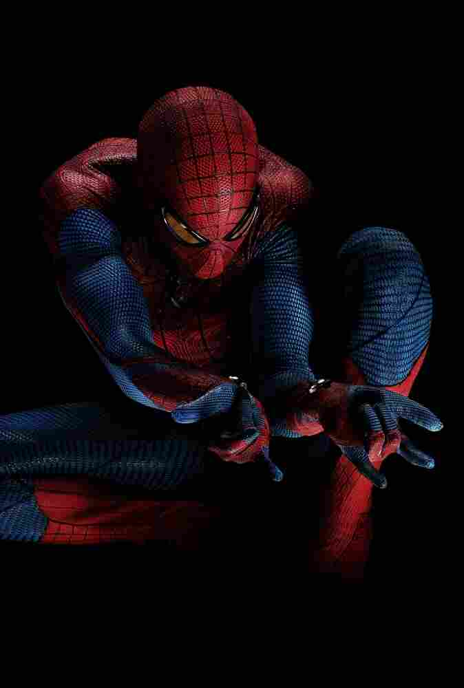 In this publicity image released by Sony Pictures, Andrew Garfield portrays Spider-Man in The Amazing Spider-Man.