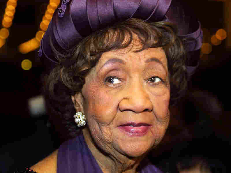 Dorothy Irene Height, pictured in 2002, spent nearly 40 years leading the National Council for Negro Women. She died in April 2010 at age 98.