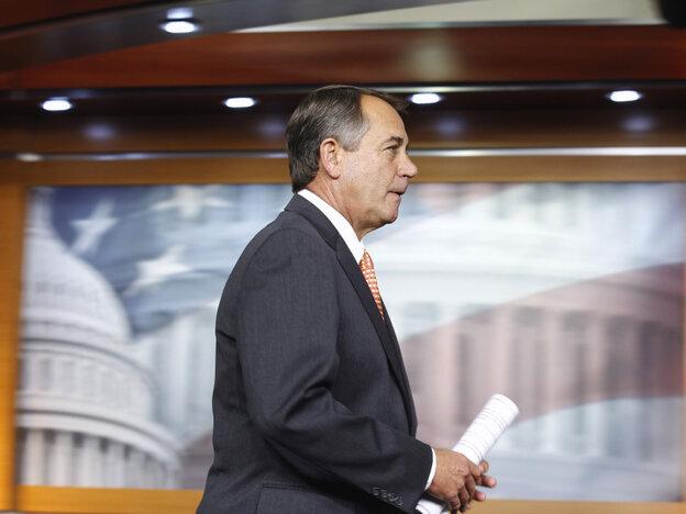 House Speaker John Boehner of Ohio, Feb. 17, 2011.